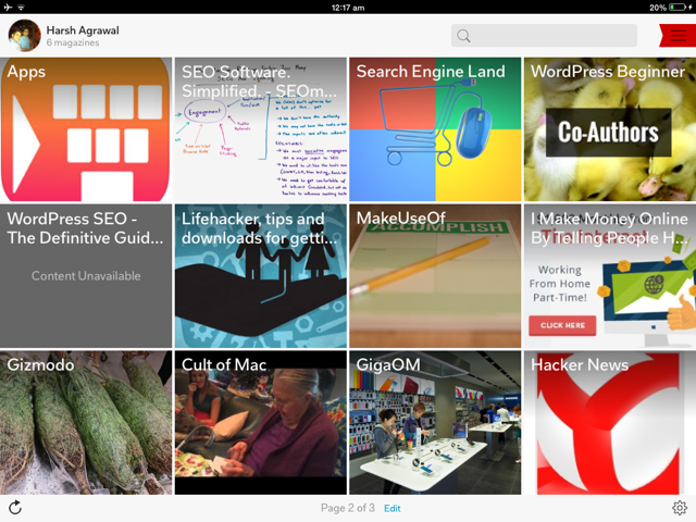 Flipboard iPad App