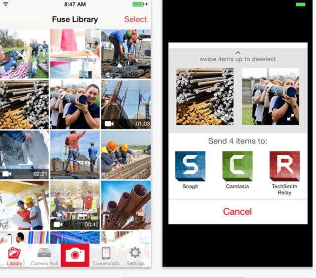 Fuse iPad App