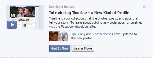 Invitation to timeline How to Enable Facebook Timeline Profile Now