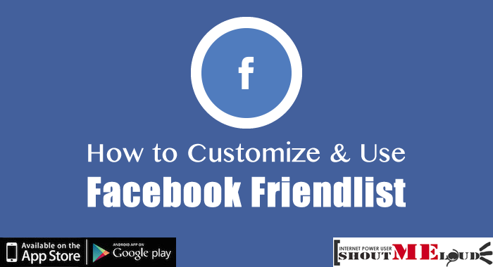 Manage Facebook Friendlist
