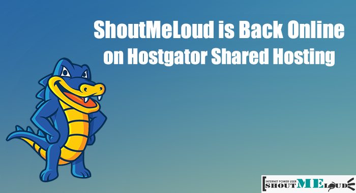 Shoutmeloud Hostgator