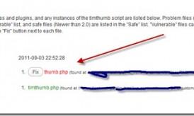 How to Fix Vulnerable Timthumb Script in WordPress?