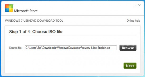 Windows 8 USB setup step 1 550x292 How to Create Bootable Windows 8 USB Flash Drive