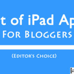 Best Blogging Apps for iPad : 2015 Edition