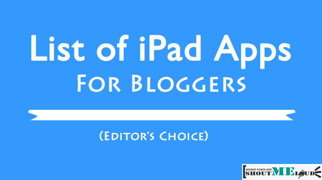 Best Blogging Apps for iPad: 2015 Edition