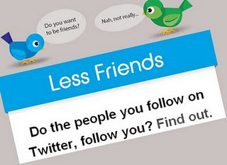 lessfriends How I Unfollowed People Now following me on Twitter