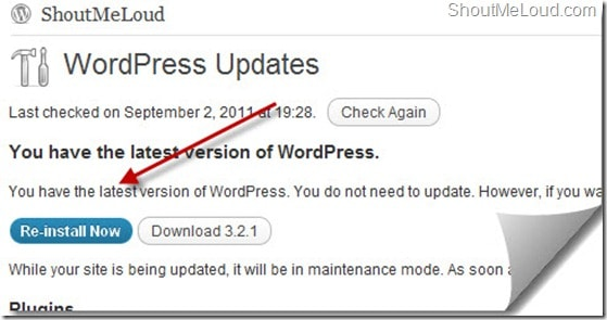 reinstall-wordpress