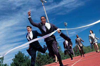 running race business men 5 Bitter Realities About Being A Freelance Web Designer