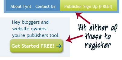 step 1 TYNT : Get Free Backlinks For Your Copied Content