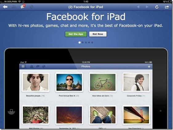 Facebook iPad Download Facebook for iPad: Video Review