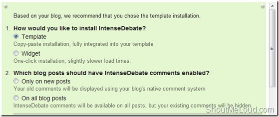 InstensedebateInstallation thumb How to Integrate Intense Debate Commenting System into BlogSpot Blogs