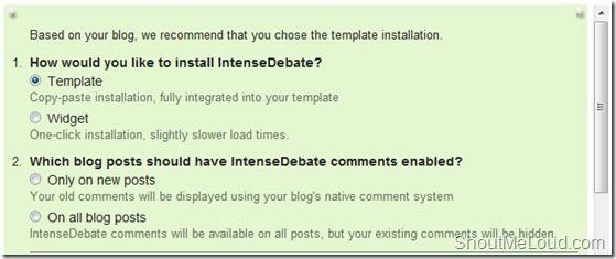 Instense-debate-Installation