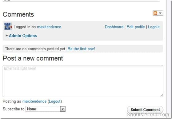 IntensedebatecommentingSystem thumb How to Integrate Intense Debate Commenting System into BlogSpot Blogs