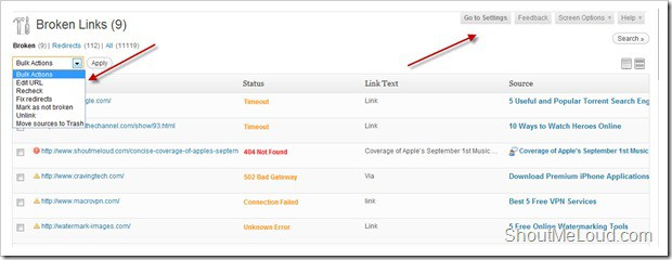 Broken Link Checker WordPress Plugin Broken Link Checker WordPress Plugin: Fix Broken links & Redirections