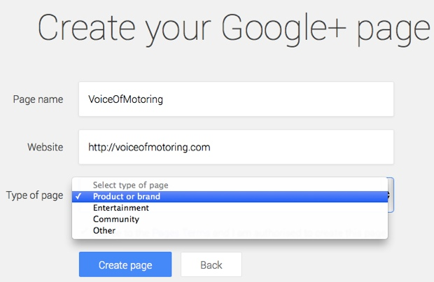 How To Create Google Brand Pages For Your Blog