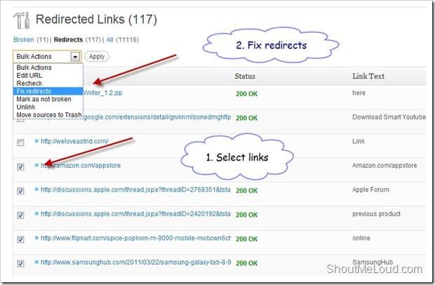Fixing-redirected-links-WordPress