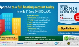 Netfirms Black Friday Sale Coupon- $1 Web Hosting