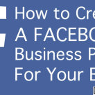 How to Create A Facebook Business Page For Your Blog