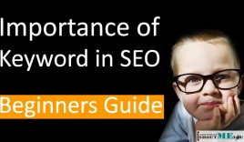 Importance of Keyword in SEO : Beginners Guide