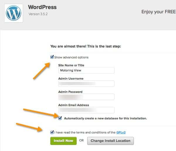 Bluehost WordPress Setup How to Install WordPress Blog on Bluehost WebHosting   Get A Blog