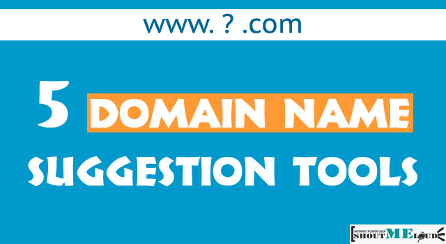 6 Best Domain Name Suggestion Tools: For New Domain Extensions