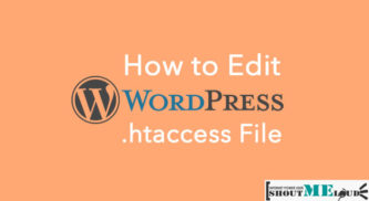 How To Edit WordPress .htaccess File