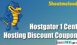 Hostgator 1 Cent Hosting Discount Coupon : ShoutMeLoud