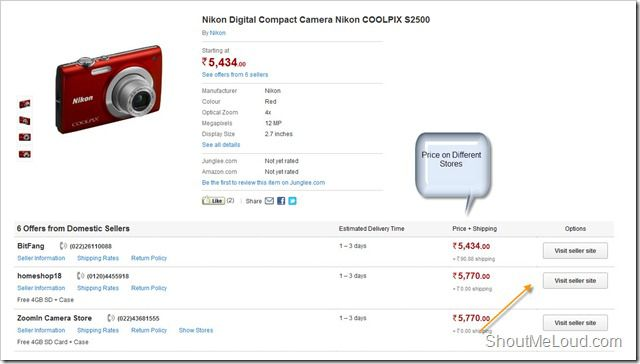 Amazon India Store Shopping thumb Junglee.com : Amazon India Shopping Store