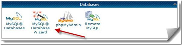 Cretae MySQL Database Wizard How To Manually Install WordPress Blog on any Web Hosting