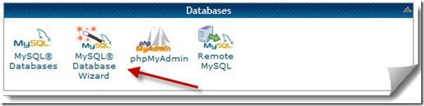 Cretae MySQL Database Wizard