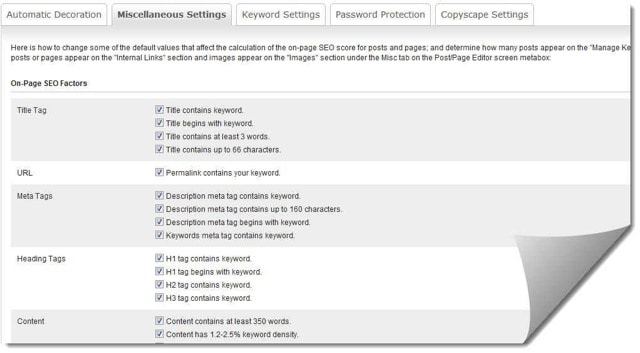 Easy Wp SEO Features EasyWPSEO Plugin : Keyword Optimization Plugin for WordPress