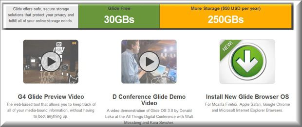 Glide gDrive Free Online Data Storage Sites : Prevent Data Loss