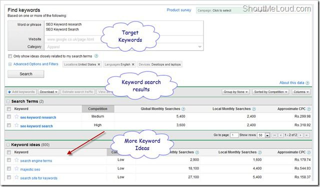 Keyword Research thumb How To Use Google Keyword Planner For Keyword Planner