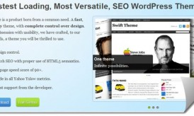 Swift Premium WordPress Theme : Responsive WordPress Theme