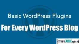 Basic WordPress Plugins for Every WordPress Blog