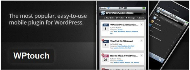 Wptouch mobile plugin Basic WordPress Plugins for Every WordPress Blog
