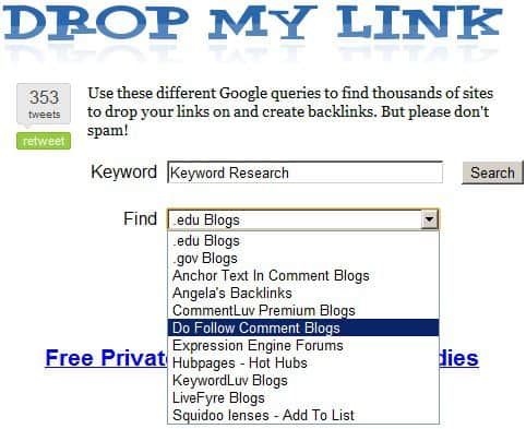 dropmylink blog commenting Blog Commenting – A Practical Guide for Bloggers
