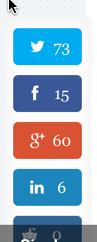 floating social buttons plugin