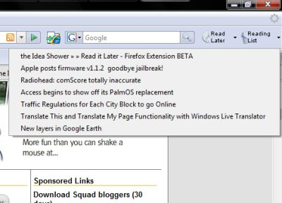 read it later firefox extension1 Featured Firefox Addons For EveryDay Need