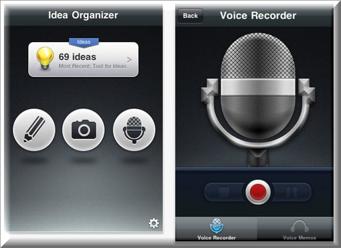Idea organizer Top Must Have Blogging apps for iPhone [Paid & Free]