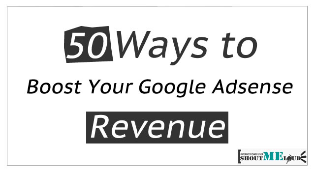 Increase Adsense Revenue