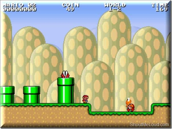 Play Super Mario Bros Offline & Online : Chrome Extension