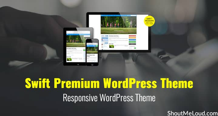 Swift Premium WordPress Theme: Responsive WordPress Theme