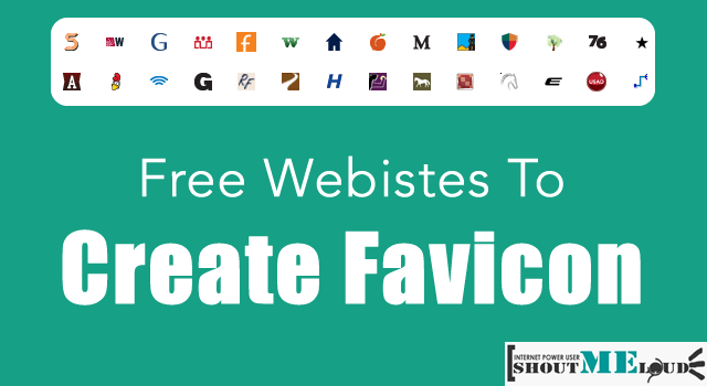 Websites to Create Favicon