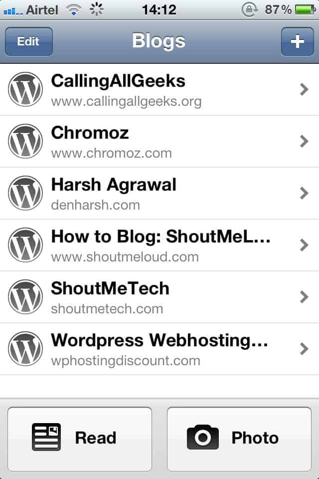 WordPress iPhone app Top Must Have Blogging apps for iPhone [Paid & Free]
