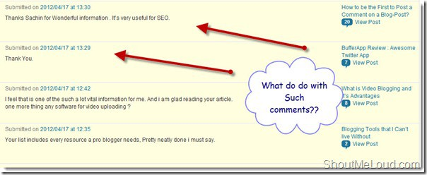 Blog comments thumb Blog Comments : When it is Useful and Harmful?