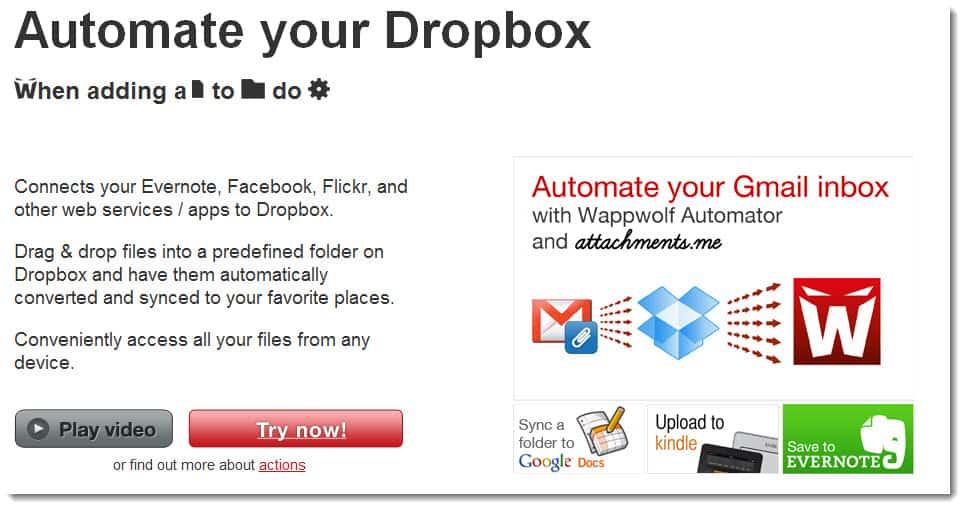 Dropbox Automater addon