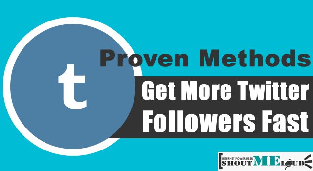 Gain Twitter Followers Fast
