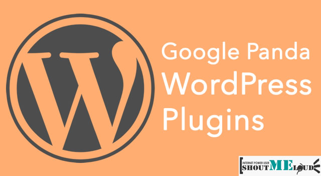 Google Panda WordPress Plugins to Kick Panda Back to The Jungle