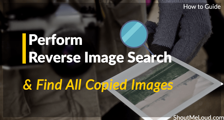 Perform Reverse Image Search